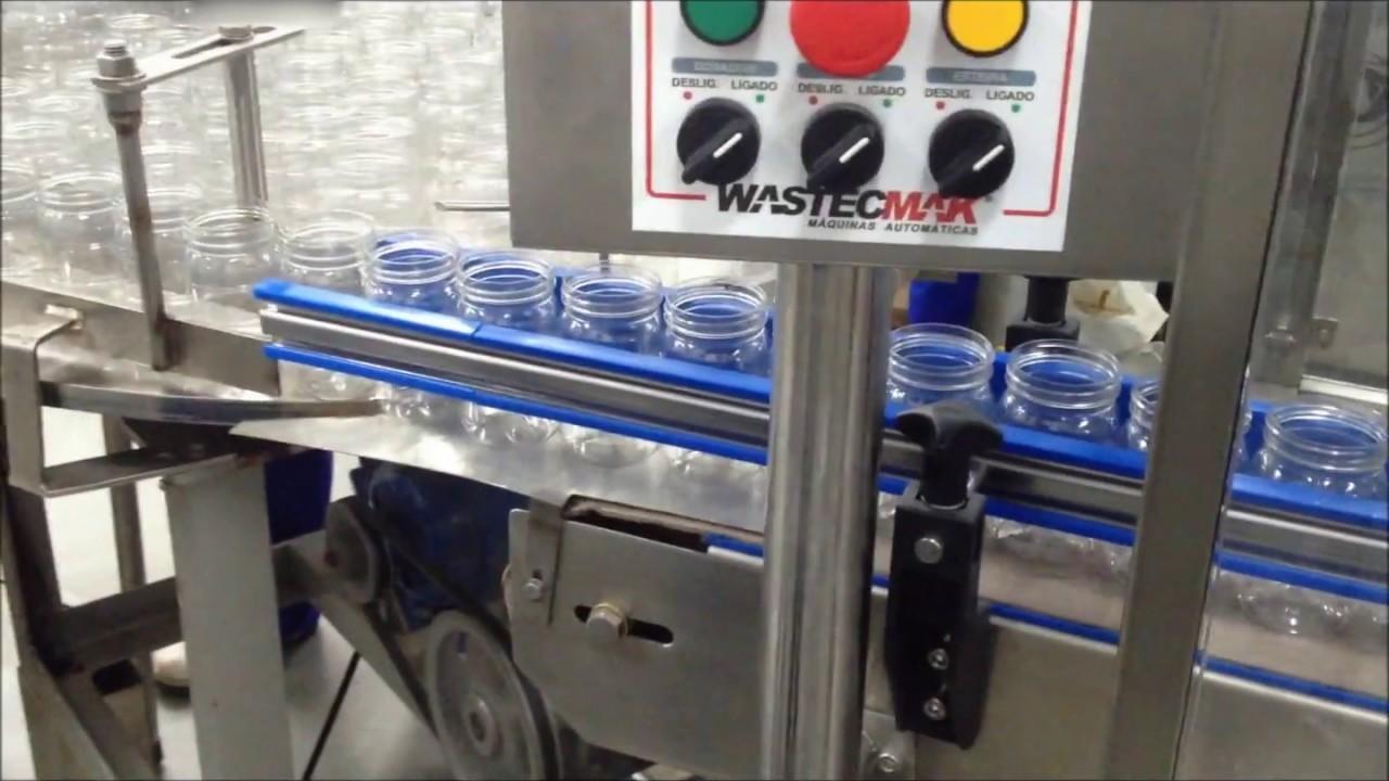 Envasadora manual de líquidos viscosos