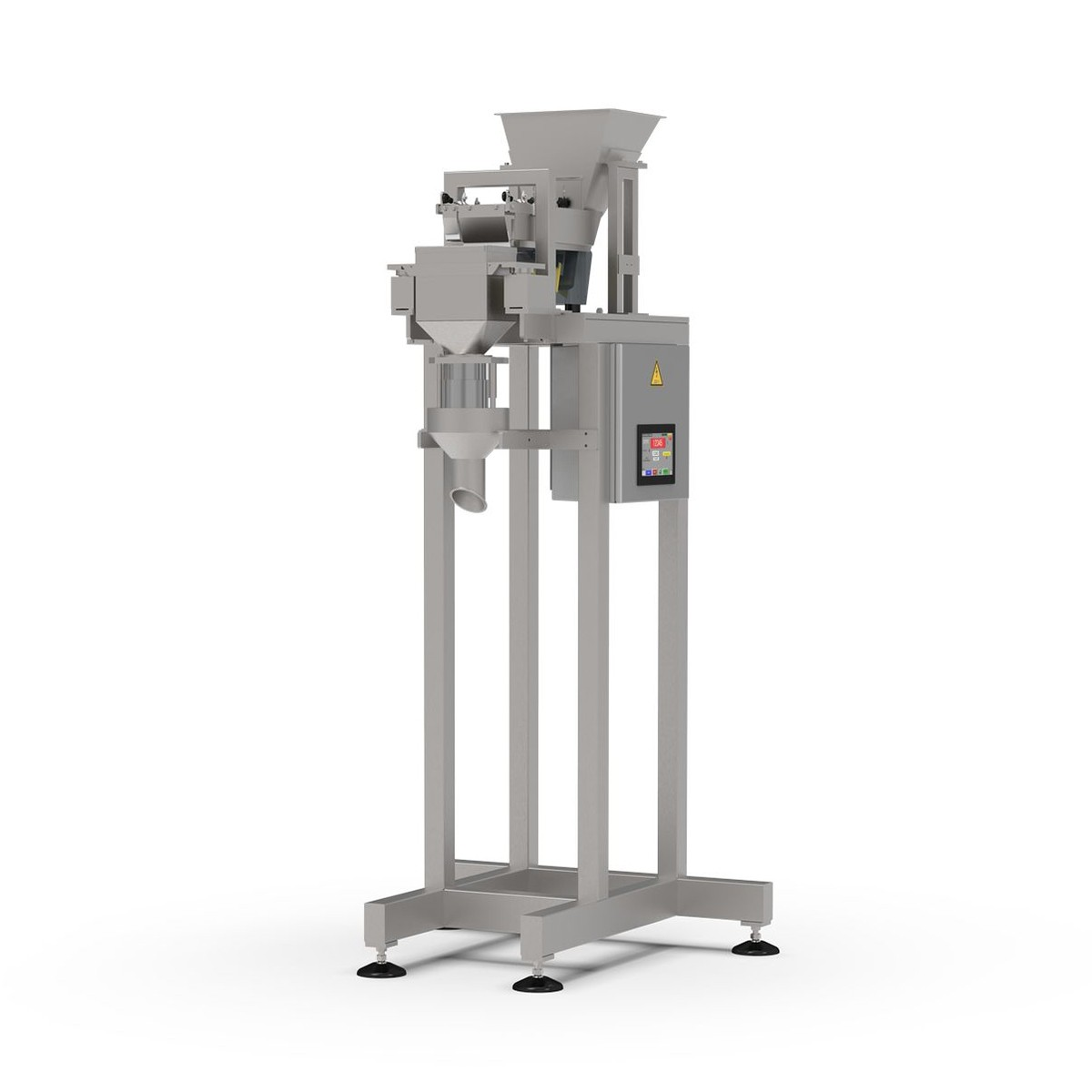 Envasadora gravimétrica semi automática