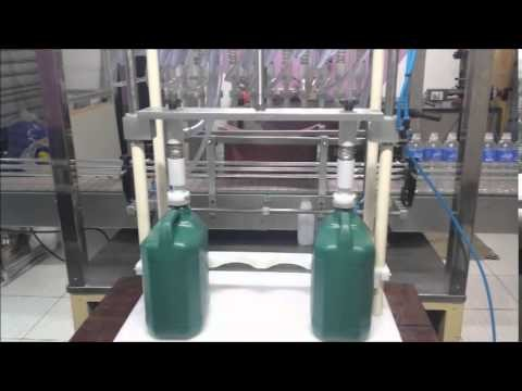 Envasadora de líquidos manual