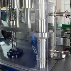 Envasadora volumétrica semi automática