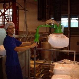 Distribuidor de manipulador a vácuo para bombonas